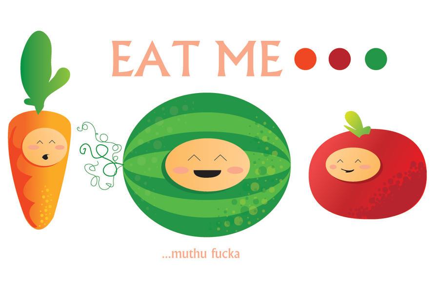 Eat Me by artsiipunk