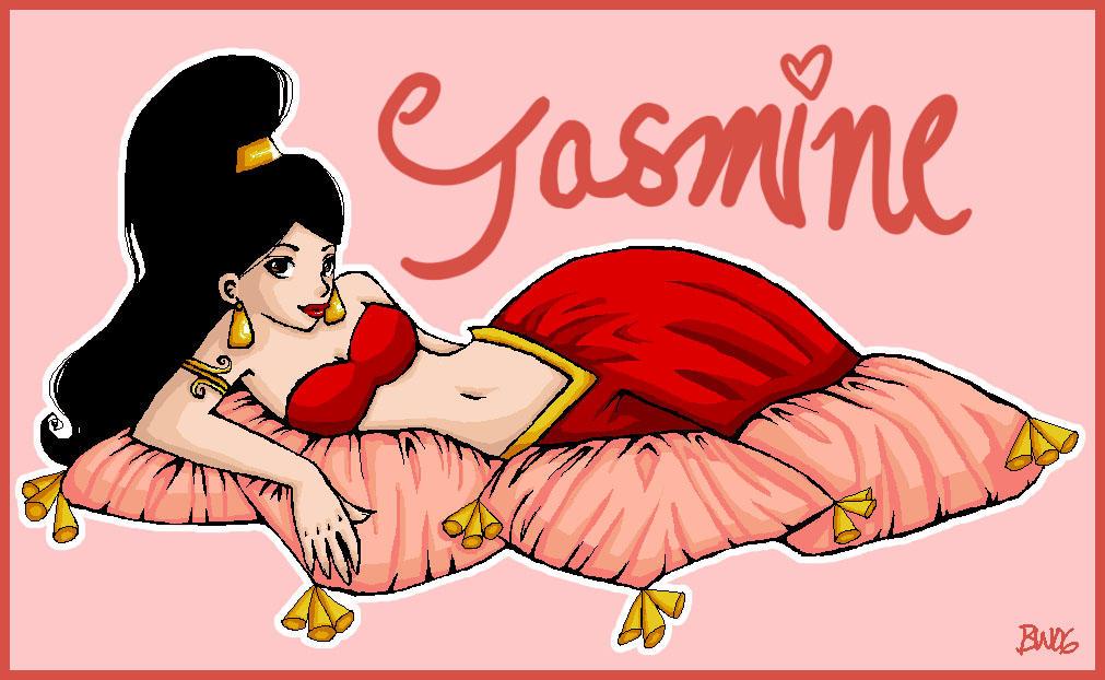 Jasmine by puffypanda