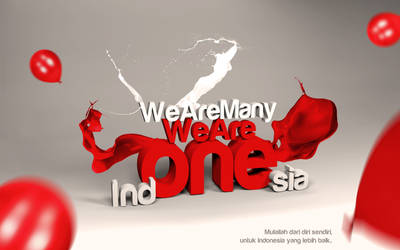 We Are Many,We Are Ind-ONE-sia