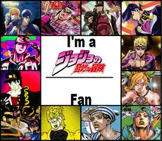 i'm a JJBA fan