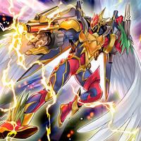 Elemental HERO Grandman by D4NT3WONTDIE