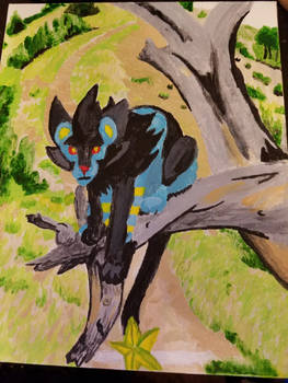 A wild luxray appears!