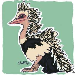 Griffin Challenge Artfol Ostrich x porcupine