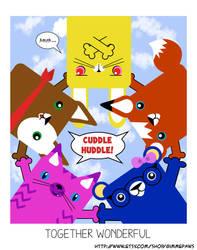 Cuddle Huddle by BillForster