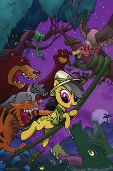 Daring Do - My Little Pony #16 cover