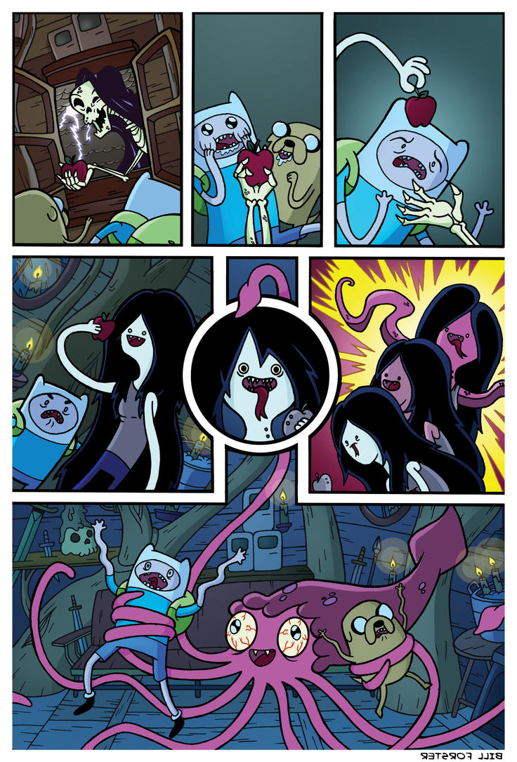 Adventure Time with Marceline the Vampire Queen by BillForster