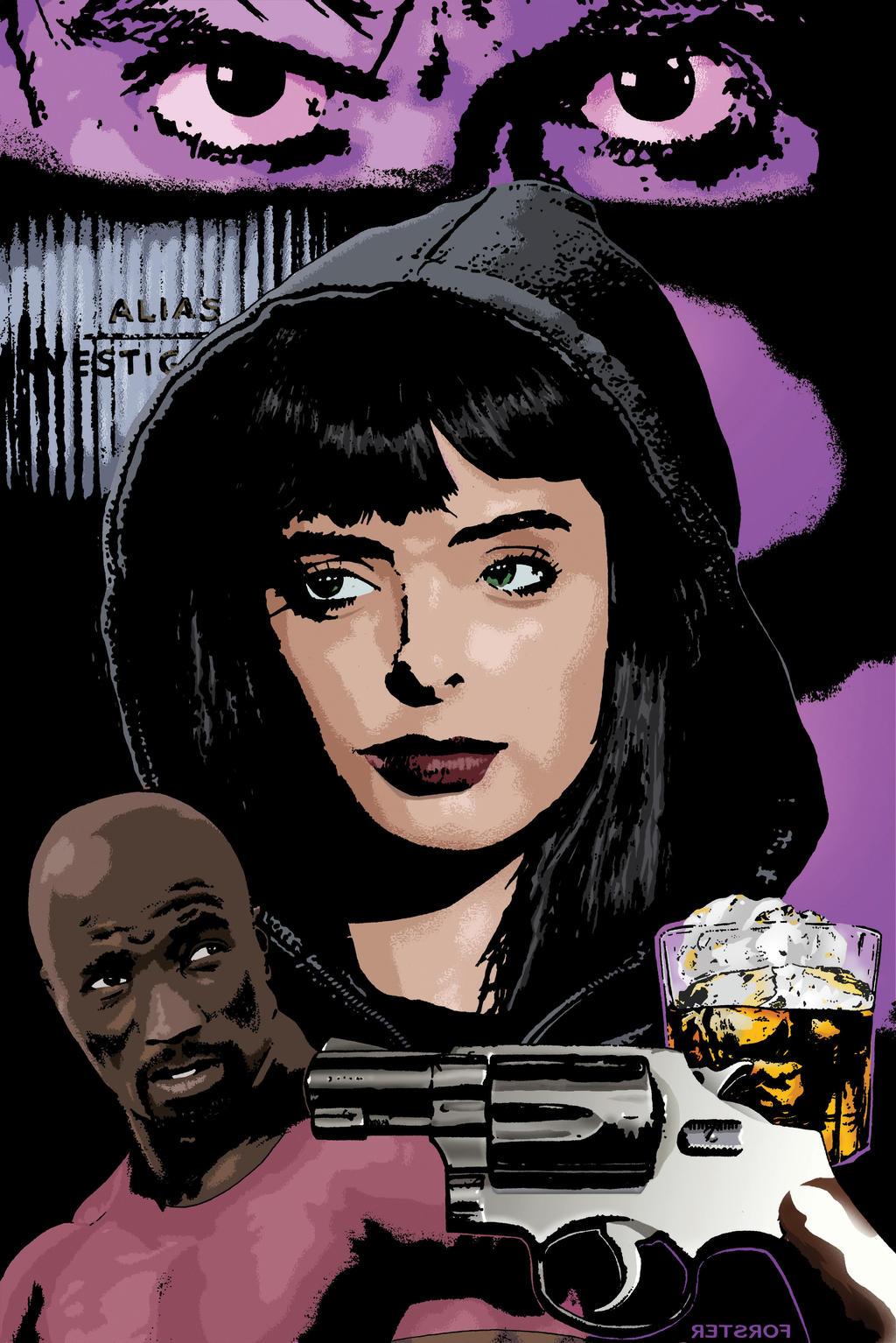 Guns, Booze and Jessica Jones by BillForster