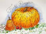 Pumpkin with Pattern