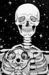Skeleton - Day 15 Inktober