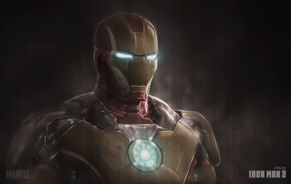 Ironman3 Portrait Mark 42 by Jfields217Iron Man 3 Poster Wallpaper Mark 42