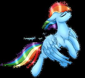 Rainbow's Majestic Sass by Ezzy-Artz