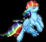 Rainbow's Majestic Sass by EzzyArtz