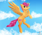 Scootaloo {+Speedpaint} by MonsoonVisionz
