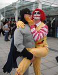 mc joker and batman