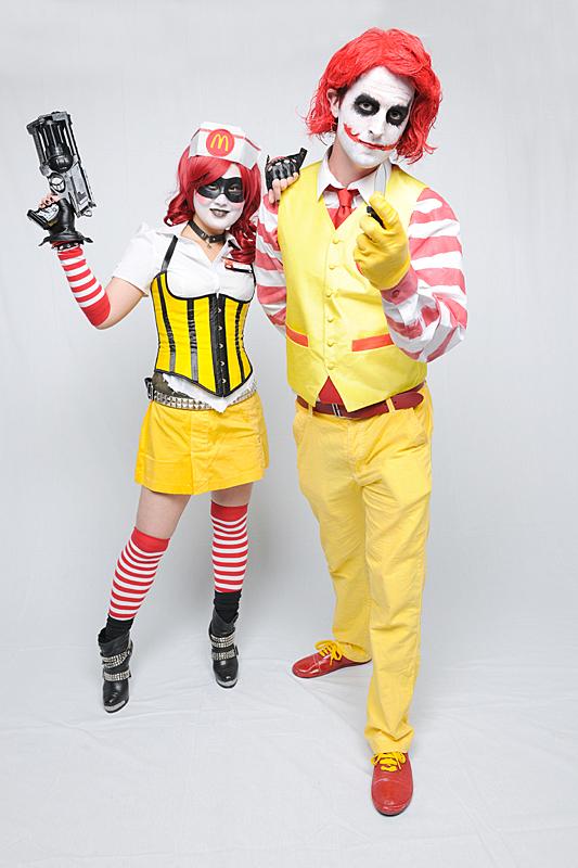mc joker and mc harley 2 by rew-mysterio