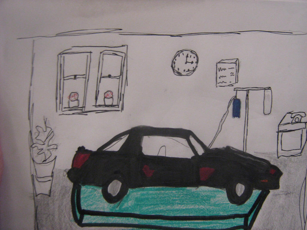 Kitt The Car In The Hospital by thegreattitanic