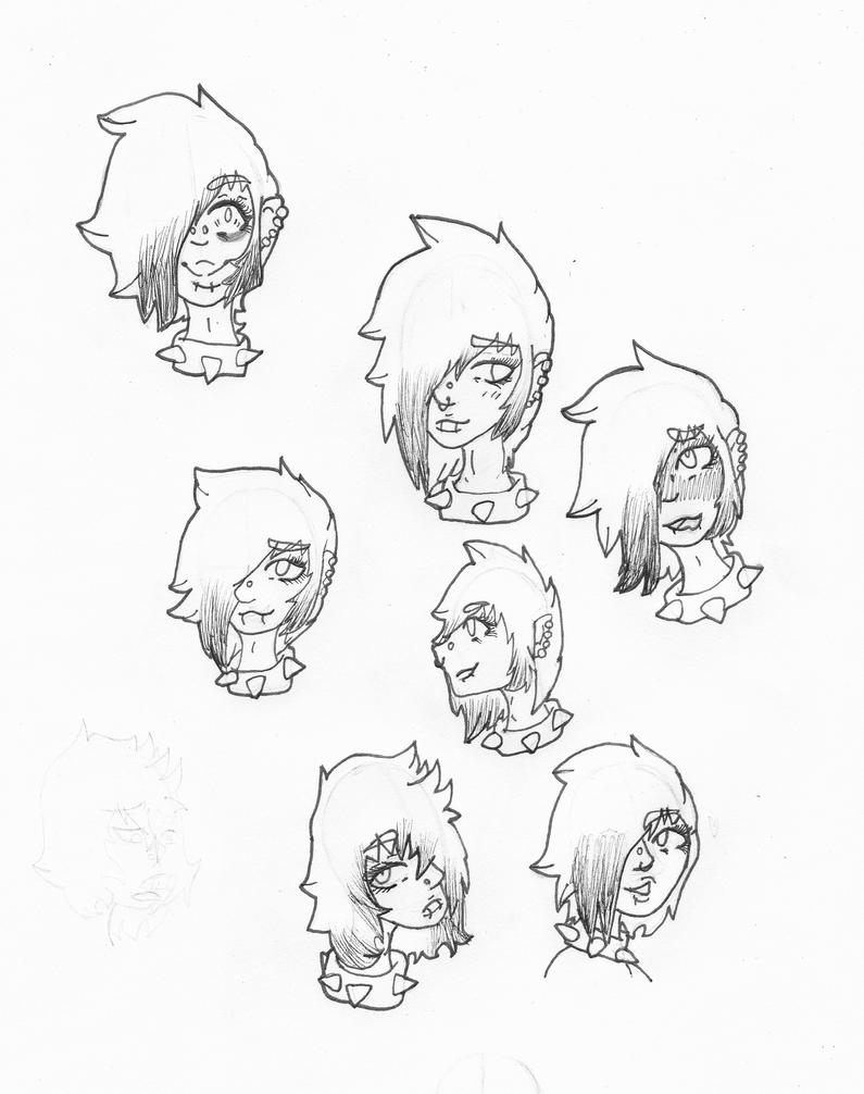 Kodiak/Kodi reference (emotions) by MismatchTwistedAngel