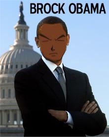 Brock Obama by GoGaeta