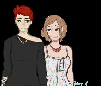 Heather and Rose by iistupidx