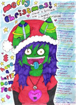 MERRY CHRISTMAS DEVIANTART.