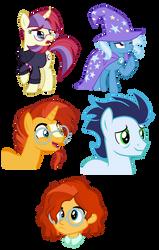 pony thingies by Ryuyo
