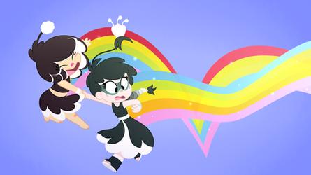 'cause rainbows won't light up the sky... by Ryuyo