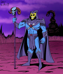 Skeletor by CHCHcartoons