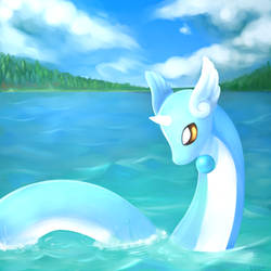 Dragonair by Welcome-To-Moonside
