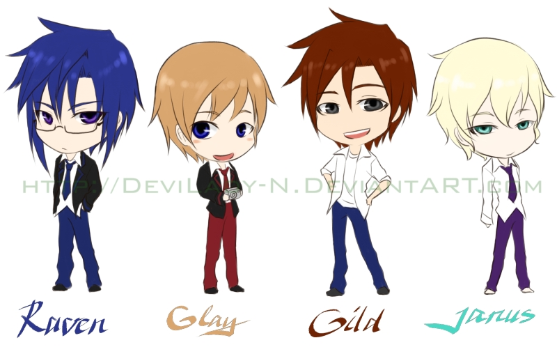 FRECLiEm Chibis-Boys by N-Maulina on DeviantArt