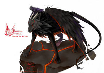 Aghnoir Rune by N-Maulina