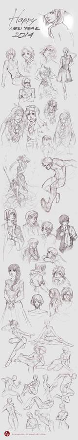 Sketchbook - Dec 2013