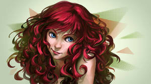Red And Curly by N-Maulina