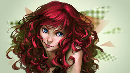 Red And Curly