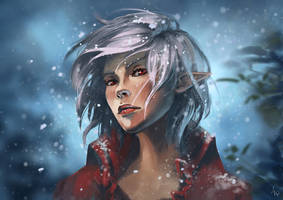 Snowy White by N-Maulina