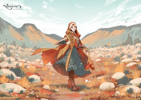 Calm Tundra by N-Maulina