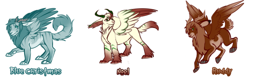 Adopt   Holiday Draelien Raffle   Closed  By Kae by inu-mutt