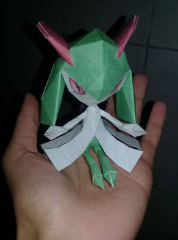 Kirlia Papercraft