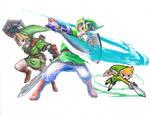 The Legend Of Zelda - Links (Scan)