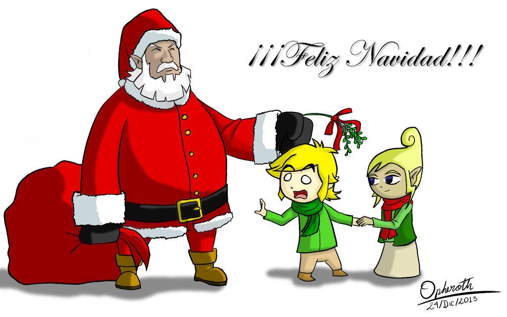 Feliz Navidad by Opheroth