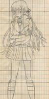 Kyoko Kirigiri by Saltome
