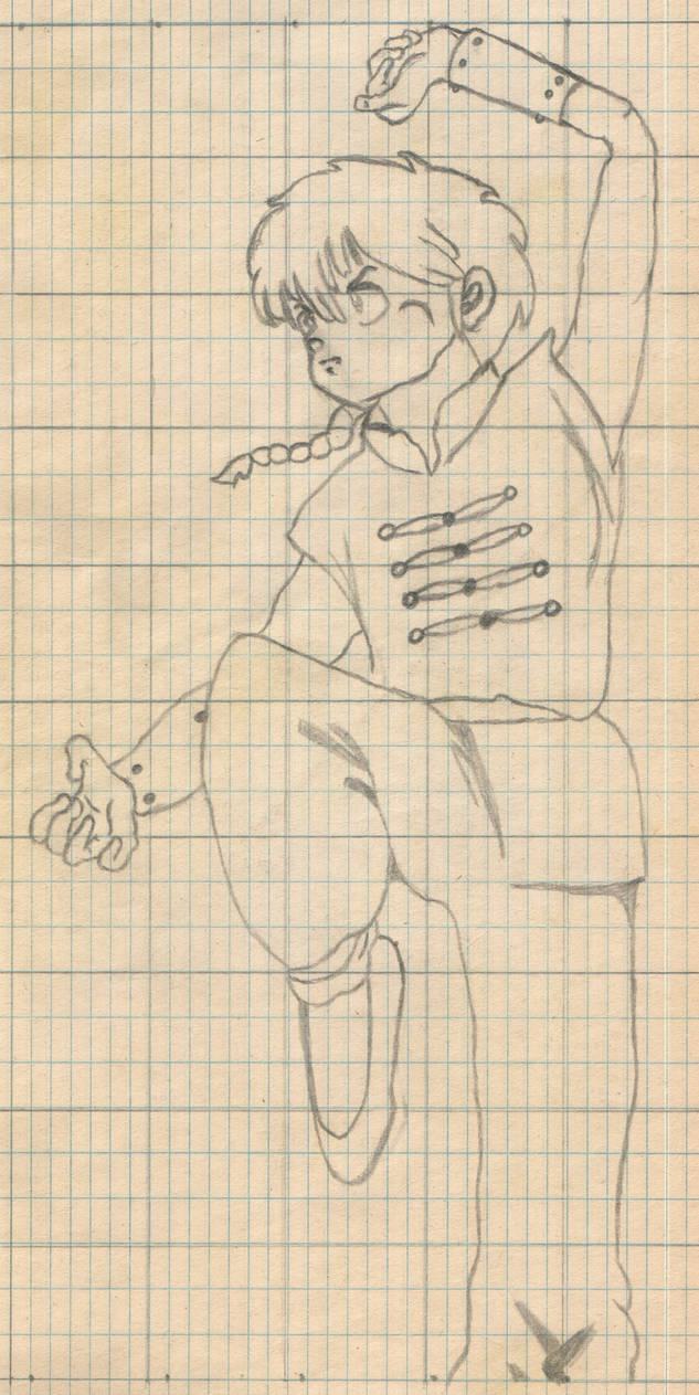 Ranma Saotome
