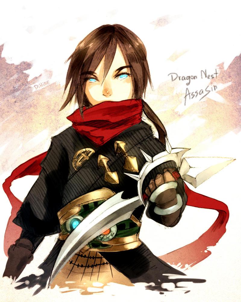 Dragon Nest: Assassin by DiWine-Waro