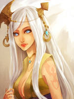 Dragon Nest: Lunaria by Varo-DY