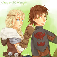 Stay Still, Hiccup! by Varo-DY