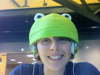 Headphone Frog