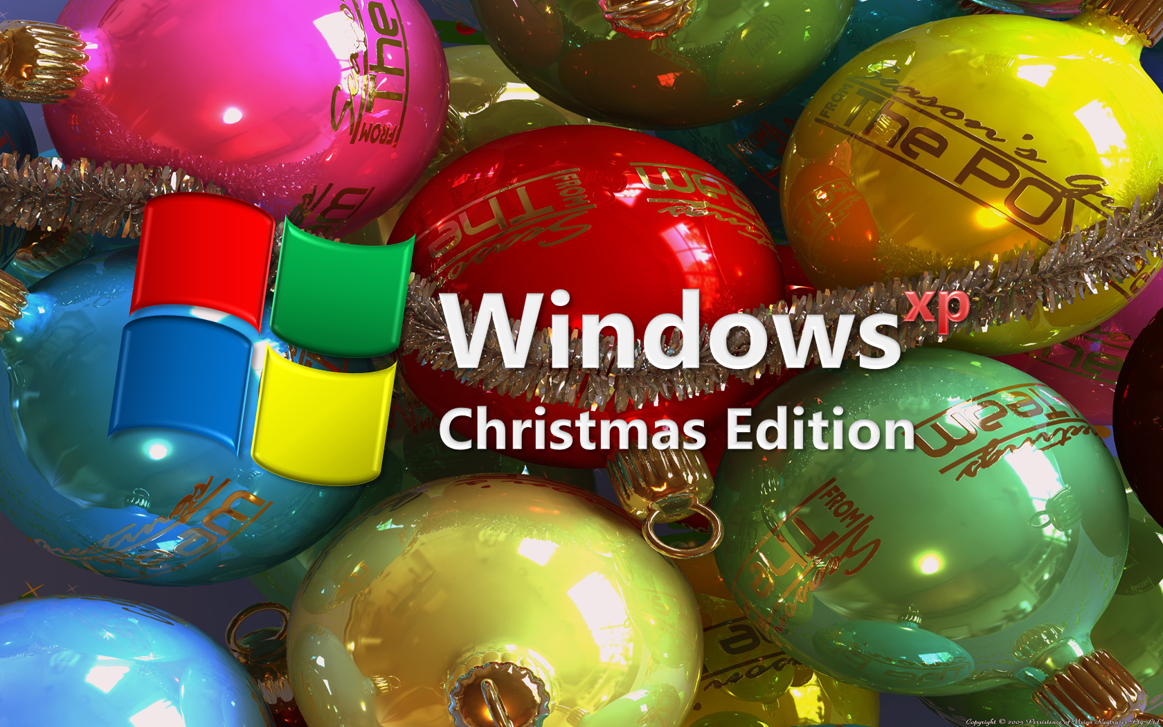 Windows xp christmas edition by aesmon11 on deviantart
