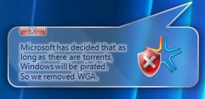 Windows 7 WGA Notice