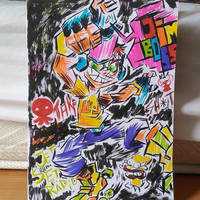 Testing my new markers with... JET SET RADIO