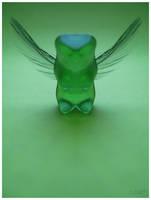 Green Gummy Angel