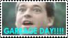 GARBAGE DAY Stamp by Kethul